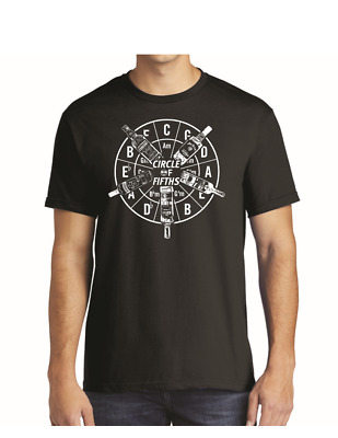 Circle Of Fifths T-Shirt Tshirt Tee Shirt Great Gift for the Musician!