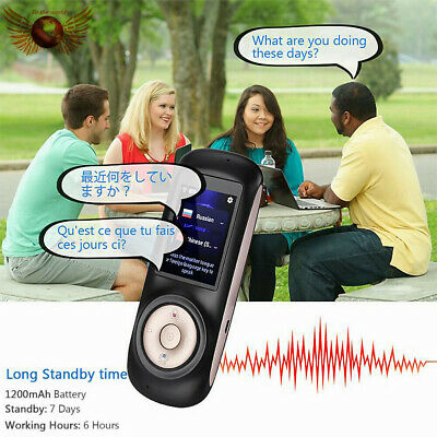 Smart Wireless Translator 52 Languages Interactive Instant Voice Translation