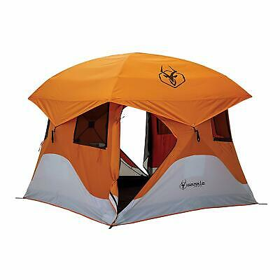 Gazelle Tents 22272 T4 Pop-Up Portable Camping Hub Tent, 4-person/family