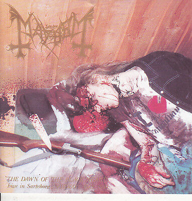 MAYHEM-CD-The Dawn of the Black Hearts - Live in Sarpsborg, Norway 28/2, 1990