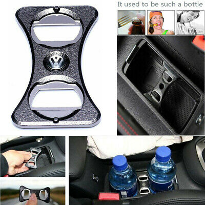 Bottle Opener Car Use Cup Holder Divider For VW Golf MK5 MK6 GTI R32 CC Passat