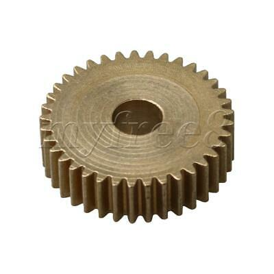 1.95x0.5cm Motor Gear Brass DIY Repair Transmission Part 37 Teeth 0.5 Module