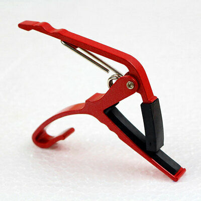 Shinning New Red Guitar Capo Suitable for Guitars of Different Widths