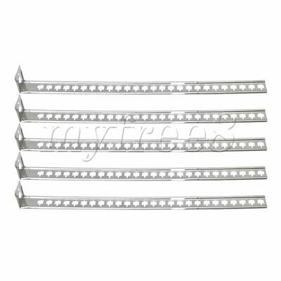 5Pcs Stainless Steel Pipe Support Bracket Holder for Bracketing Applications