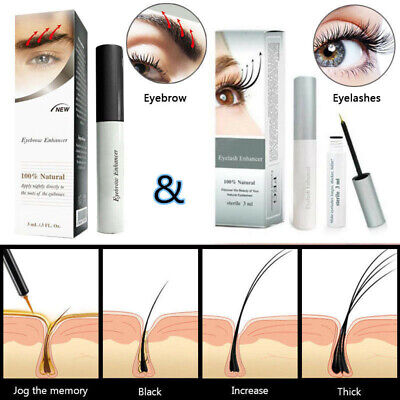 0a9227a830d Eyelash Enhancer Eyebrow Eye Lash Rapid Growth Serum Liquid 3ml Eyes Makeup