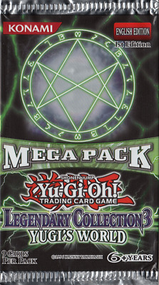 Legendary Collection 3: Yugi's World Mega Pack Singles - Near Mint - Yugioh