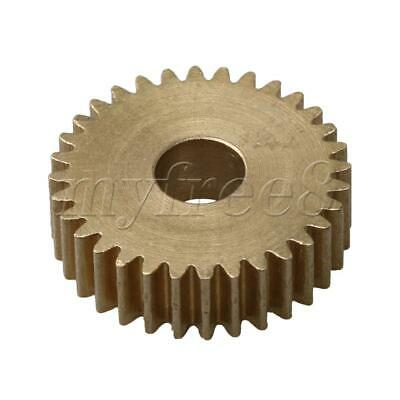 1.7x0.5cm 0.5 Module Motor Gear Brass DIY Repair Transmission Part 32 Teeth