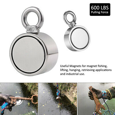 80/120/300KG Salvage Strong Recovery Neodymium Magnet Hunting Metal Detector