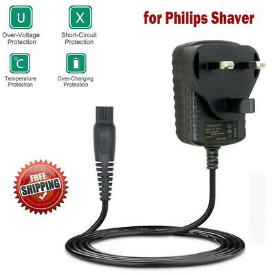 1.2m Adapter Charger for Philips Shaver Power Supply Mains Razor Beard Trimmer