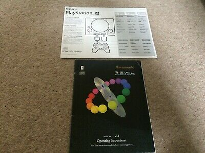 3Do & Original Sony Playstation Instruction Manuals