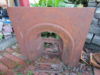 Original Antique Victorian / Edwardian cast iron fire surround #2