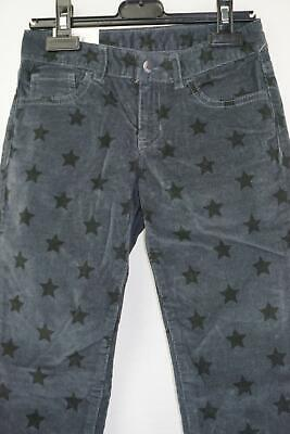 Gap Kids Grey chord trousers with star print detail Cotton NWT 8-9 Years