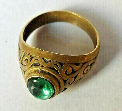 Ancient Medieval Bronze Ring Artifact Museum Quality Very Stunning Wonderful
