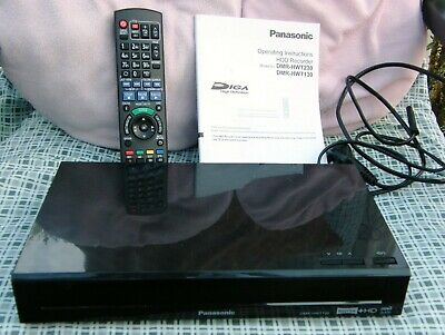 PANASONIC DMR-HWT130EB Freeview+ HD Smart Digital Twin Tuner TV Recorder, 500 GB