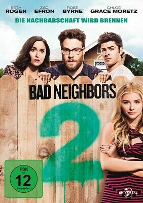 Bad Neighbors 2   Dvd New  Seth Rogen/Zac Efron/Chloe Grace Moretz/+