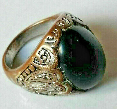 Ancient Ring Bronze Legionary Rare Type Artifact Old Vintage