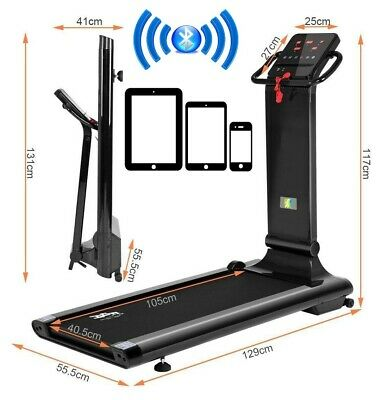 BLUETOOTH JK2001G TREADMILL Electric Motorised Folding Running Machine Home Gym