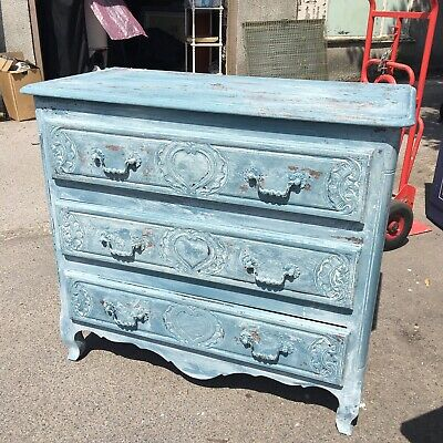 French Antique 'Marriage' Chest Of Drawers