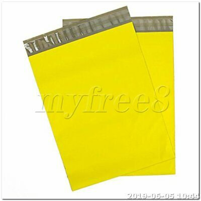100pcs 30 x 50cm Waterproof Envelopes Shipping Bags Poly Mailers yellow