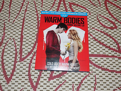Warm Bodies, Blu-Ray & Dvd, Excellent Condition With Slipcase
