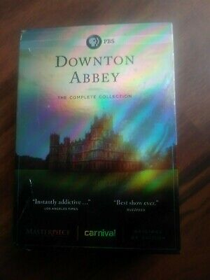 PBS Downton Abbey The Complete Collection DVD New Sealed