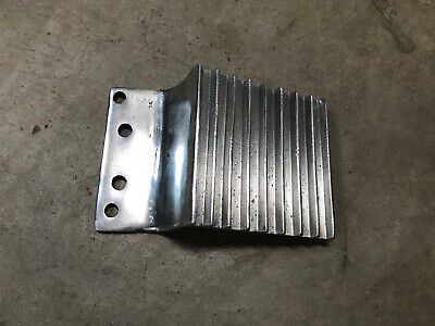 "Kenworth 4-3/4"" Polished Aluminum Fuel Tank Step"