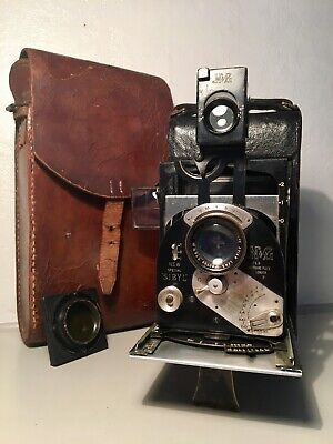 Rare Newman & Guardia New Special Sibyl Rollfilm Camera