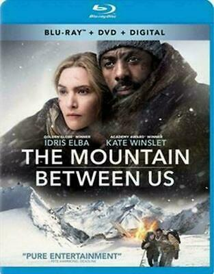 NEW The Mountain Between Us BLU-RAY + DVD + DIGITAL SEALED FREE SHIPPING
