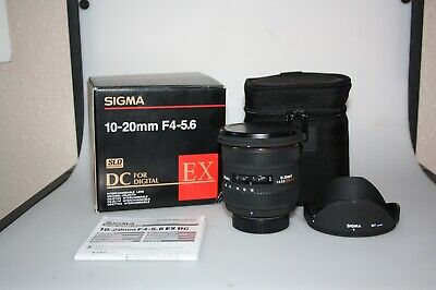 SIGMA EX 10-20mm F4-5.6 DC SLD GLASS HSM  - NIKON DIGITAL FIT, MINT BOXED!!!!