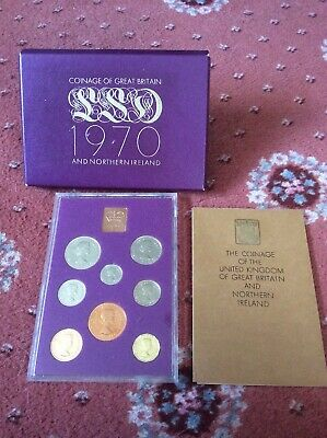 Coinage of Great Britain And Northern Ireland 1970 Proof Set Coins