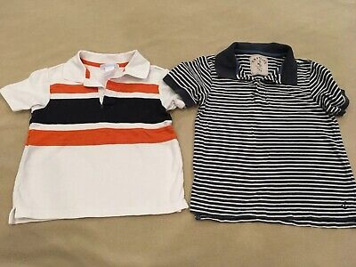 Janie & Jack 3T Crewcuts 4/5 Polo Top Lot Brother Coordinates Sibling Set