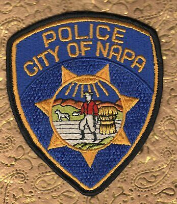 City of NAPA California Police Shoulder Patch