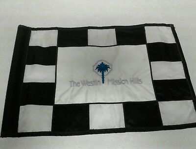 The Westin Mission Hills Resort - Pete Dye/Gary Player Course pin flag pga