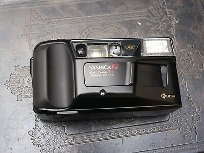 Film Tested Yashica T3  35mm 2.8 T* Carl Zeiss Point and Shoot Camera