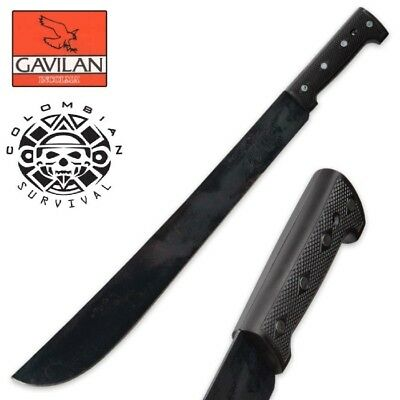 """Colombian Survival Machete with 18"""" Carbon Steel Blade"""