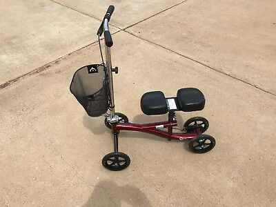 22436 Roscoe Knee Ankle Scooter Surgery Walker Mobility Roller Bike