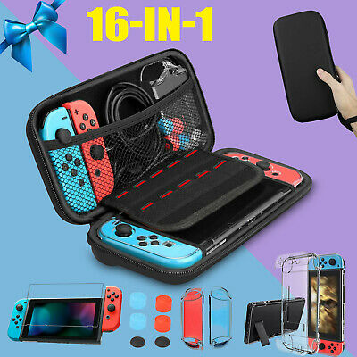 Waterproof Hard Shell Protective Case Cover for Nintendo Switch Console Joystick