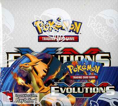 Pokemon Tcg Xy Evolutions Booster Sealed Box - English