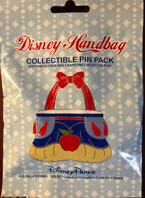Disney Collectible Pin Pack HANDBAGS Mystery Bag of 5 Pins Sealed in Canada