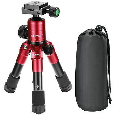 "Neewer 20"" Compact Desktop Macro Mini Tripod with 360 Degree Ball Head and Bag"