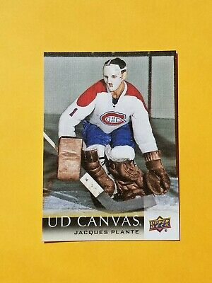 2018-19 Upper Deck Series Two Canvas #C250 Jacques Plante
