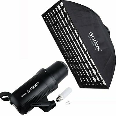 Godox SK300II 300W 2.4G Wireless X System Studio Flash Strobe Light + Softbox