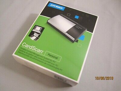 Dymo Dymo Cardscan Personal Business Card Scanner New