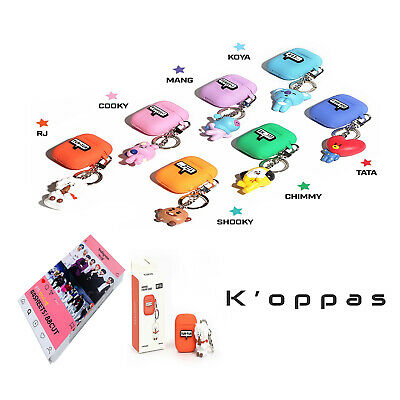 Official Kpop BTS BT21 Airpods Figure Case Cover With Instagram Photo Card