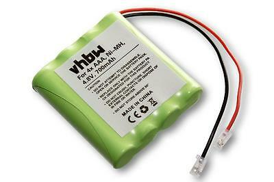 Batterie 700mAh, 4x AAA, Ni-MH, 4.8V pour divers appareils