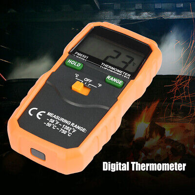 PEAKMETER PM6501 High Accuracy K Type 2000 Counts LCD Thermometer
