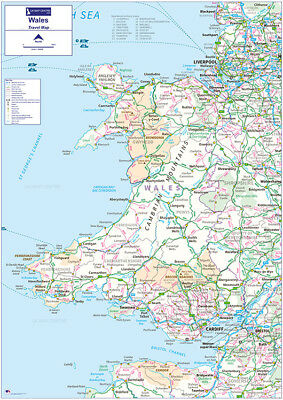 Travel Map 5 - Wales