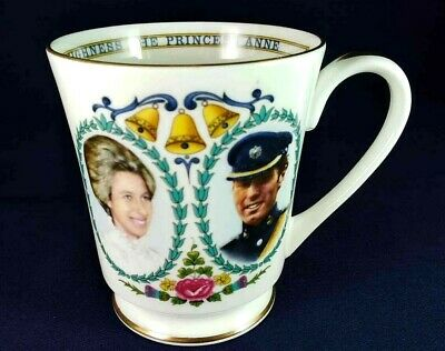 Princess Anne Wedding Mug 1973