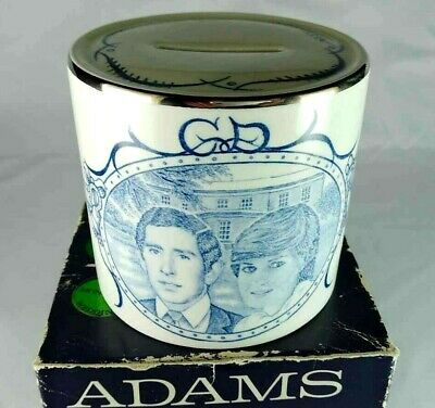 Charles & Diana Wedding 1981 Adams Moneybox