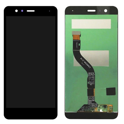 Lcd Display  Per Huawei Y7 2018 Nero  Black Senza Frame